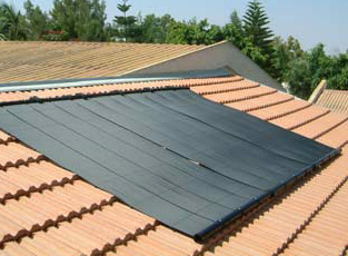 Solar Panels for Swimming Pools - Pool Heating, Europe, Portugal ...